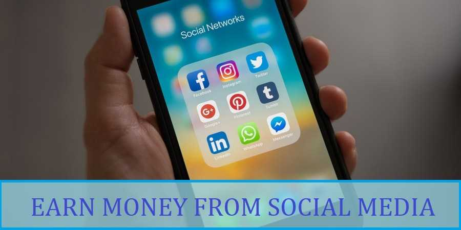 How To Earn Money From social Media In India